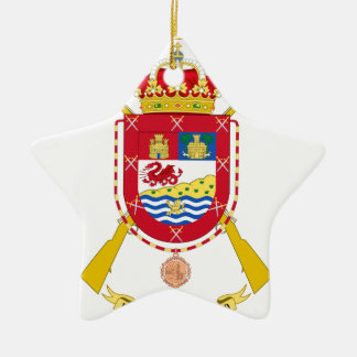 Coat of Arms of the 50th Light Infantry Regiment Christmas Ornament