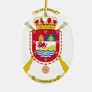 Coat of Arms of the 50th Light Infantry Regiment Ornament