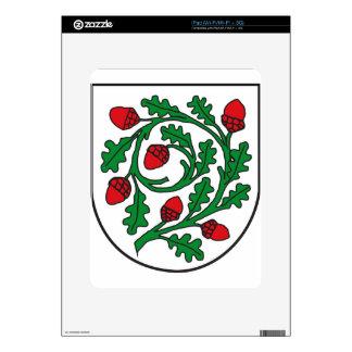 Coat_of_arms_of_the_Archbishopric_of_Mainz_ (2) iPad Calcomanía