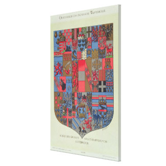 Coat of Arms of the Austro-Hungarian Empire Canvas Print