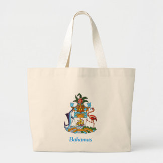 Coat of arms of the Bahamas Canvas Bag