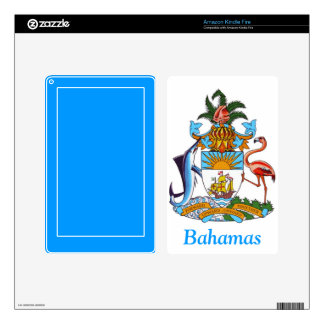 Coat of arms of the Bahamas Decals For Kindle Fire