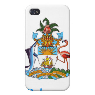 Coat of arms of the Bahamas Cases For iPhone 4
