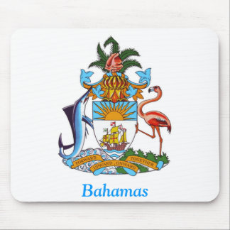 Coat of arms of the Bahamas Mouse Pads