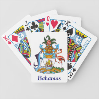 Coat of arms of the Bahamas Bicycle Playing Cards