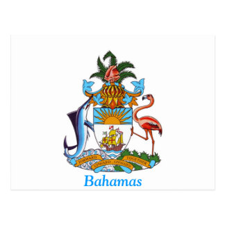 Coat of arms of the Bahamas Postcards