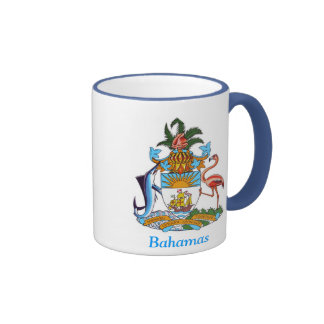 Coat of arms of the Bahamas Ringer Coffee Mug