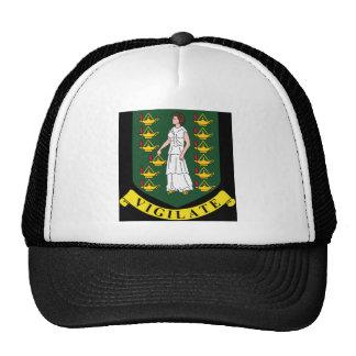 Coat of arms of the British Virgin Islands Hats