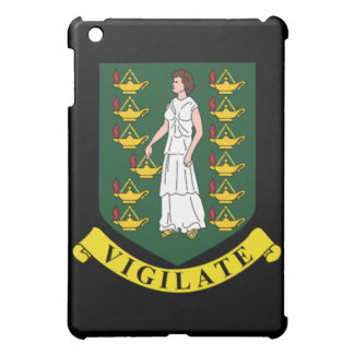 Coat of arms of the British Virgin Islands iPad Mini Case