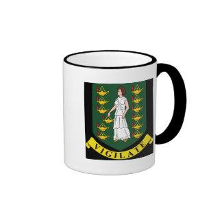 Coat of arms of the British Virgin Islands Coffee Mug