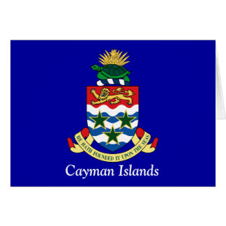 Coat of arms of the Cayman Islands Cards