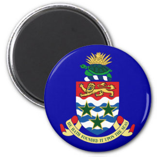 Coat of arms of the Cayman Islands Refrigerator Magnets