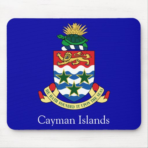 Coat of arms of the Cayman Islands Mouse Pad