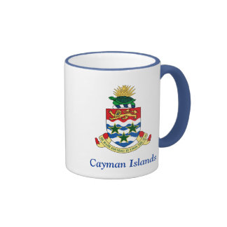 Coat of arms of the Cayman Islands Ringer Coffee Mug