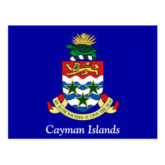 Coat of arms of the Cayman Islands Postcards