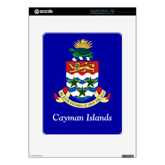 Coat of arms of the Cayman Islands Decals For The iPad