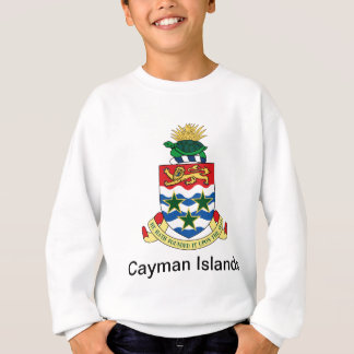 Coat of arms of the Cayman Islands Sweatshirt