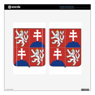 Coat_of_arms_of_the_Czech_and_Slovak_Federal_Repub Decal For Kindle Fire