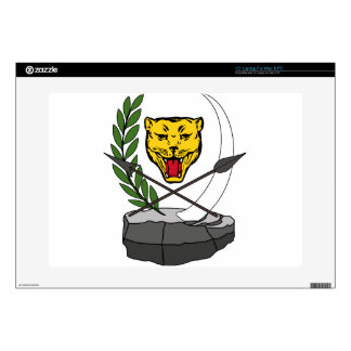 """Coat_of_arms_of_the_Democratic_Republic_of_ Skin For 15"""" Laptop"""