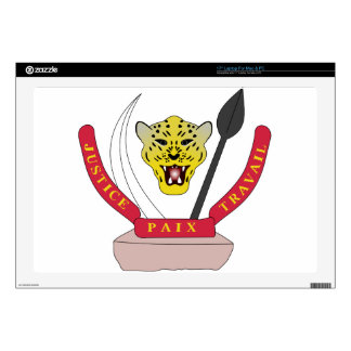"""Coat_of_arms_of_the_Democratic_Republic_of_ Skin For 17"""" Laptop"""