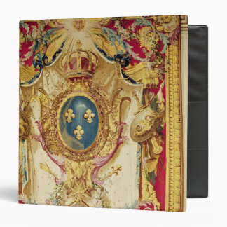 Coat of arms of the French Royal Family 3 Ring Binder