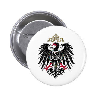 Coat of Arms of the German Empire (1889-1918) 2 Inch Round Button
