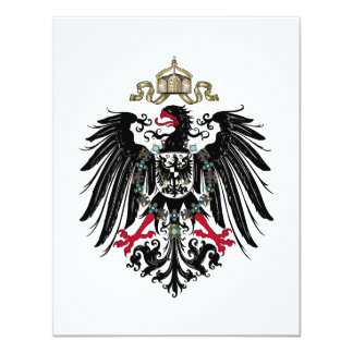 Coat of Arms of the German Empire (1889-1918) Card