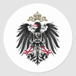 Coat of Arms of the German Empire (1889-1918) Classic Round Sticker