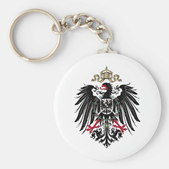 Coat of Arms of the German Empire (1889-1918) Keychain