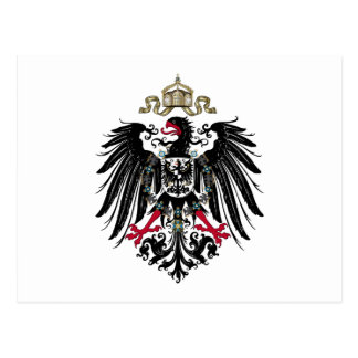 Coat of Arms of the German Empire (1889-1918) Postcard