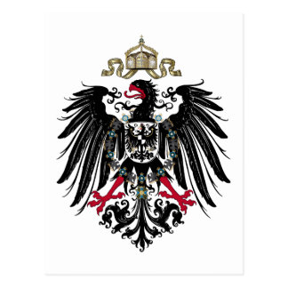 Coat of Arms of the German Empire (1889-1918) Post Card