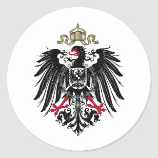 Coat of Arms of the German Empire 1889-1918 Stickers