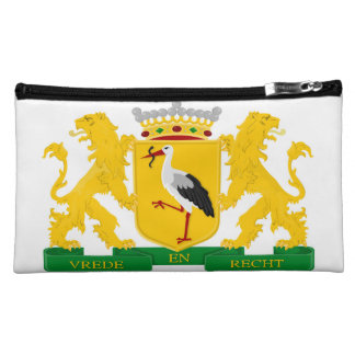 Coat of arms of The Hague, The Netherlands. Cosmetic Bag