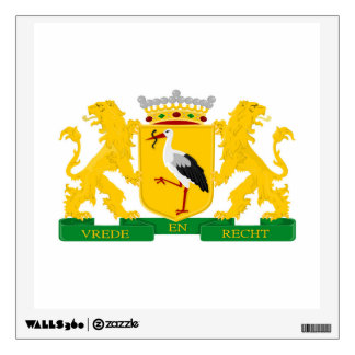 Coat of arms of The Hague, The Netherlands. Wall Sticker