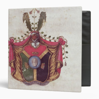 Coat of Arms of the Linnaeus family Binder