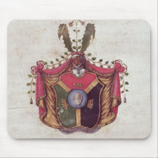 Coat of Arms of the Linnaeus family Mouse Pad