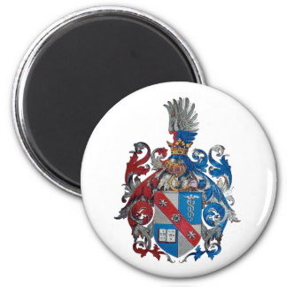Coat of Arms of the Ludwig Von Mises Family 2 Inch Round Magnet