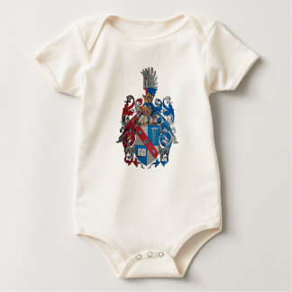 Coat of Arms of the Ludwig Von Mises Family Baby Bodysuit