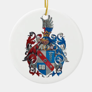 Coat of Arms of the Ludwig Von Mises Family Ceramic Ornament