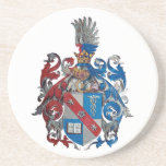 Coat of Arms of the Ludwig Von Mises Family Drink Coaster
