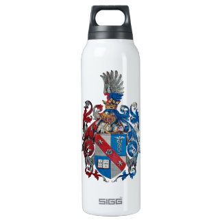 Coat of Arms of the Ludwig Von Mises Family Insulated Water Bottle