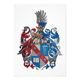 Coat of Arms of the Ludwig Von Mises Family Announcement