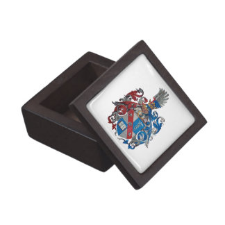 Coat of Arms of the Ludwig Von Mises Family Jewelry Box