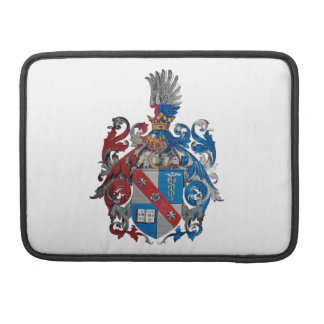 Coat of Arms of the Ludwig Von Mises Family Sleeve For MacBooks
