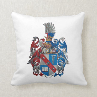 Coat of Arms of the Ludwig Von Mises Family Throw Pillows