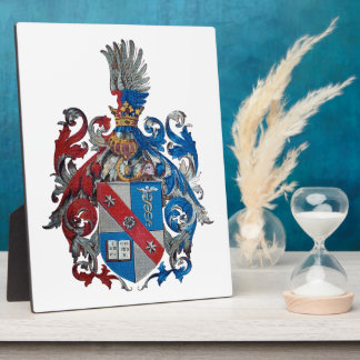 Coat of Arms of the Ludwig Von Mises Family Photo Plaques