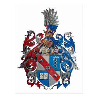 Coat of Arms of the Ludwig Von Mises Family Postcard