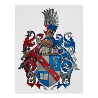 Coat of Arms of the Ludwig Von Mises Family Poster