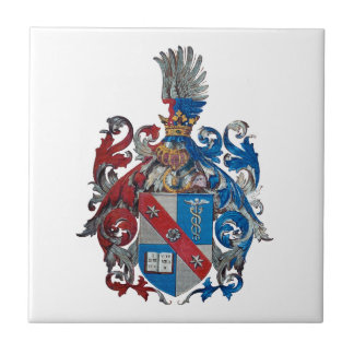 Coat of Arms of the Ludwig Von Mises Family Tile