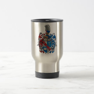 Coat of Arms of the Ludwig Von Mises Family Travel Mug